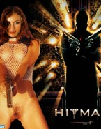 Olga Kurylenko Squeezing Tits Movie Cover Nudes 001