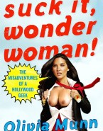 Olivia Munn Wonder Woman Flashing Tits Nude 001