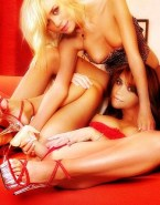 Olsen Twins Dildo Panties To The Side 001