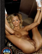 Paris Hilton Exposed Breasts Legs Spread Nude 001