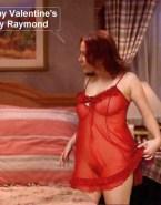 Patricia Heaton See Thru Lingerie Nude 001