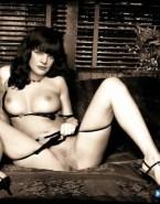 Pauley Perrette Undressing Pulls Panties Down 001