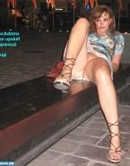 Rachel Mcadams Public Vagina Upskirt Naked 001