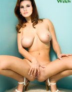 Raquel Welch Opens Her Legs Exposing Her Pussy Hot Exposed Stomach Naked 001