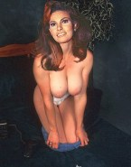 Raquel Welch Undressing Large Tits 001