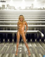 Rihanna Blonde Naked Body Fake 001
