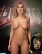 Rosamund Pike Doom (film) Great Tits Nudes 001