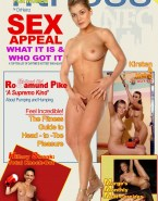 Rosamund Pike Magazine Cover Rubs Pussy 001