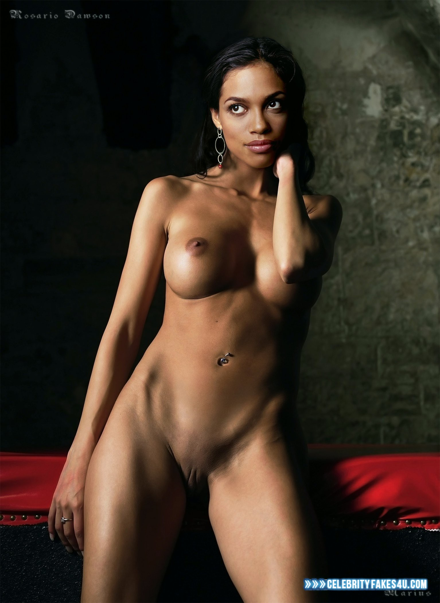 Rosario Dawson Nude Body Nice Tits 001  Celebrityfakes4Ucom-7859