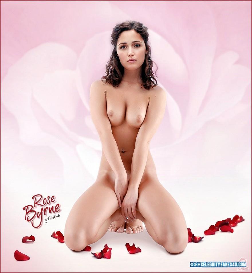 rose byrne tits