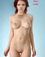 Rose Leslie Naked Body Large Tits Fake 001