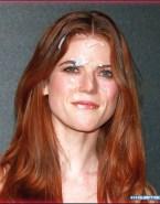 Rose Leslie Redhead Facial Naked Fake 001