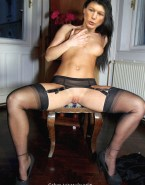 Sahra Wagenknecht Squeezing Tits Legs Spread Pussy Naked 001