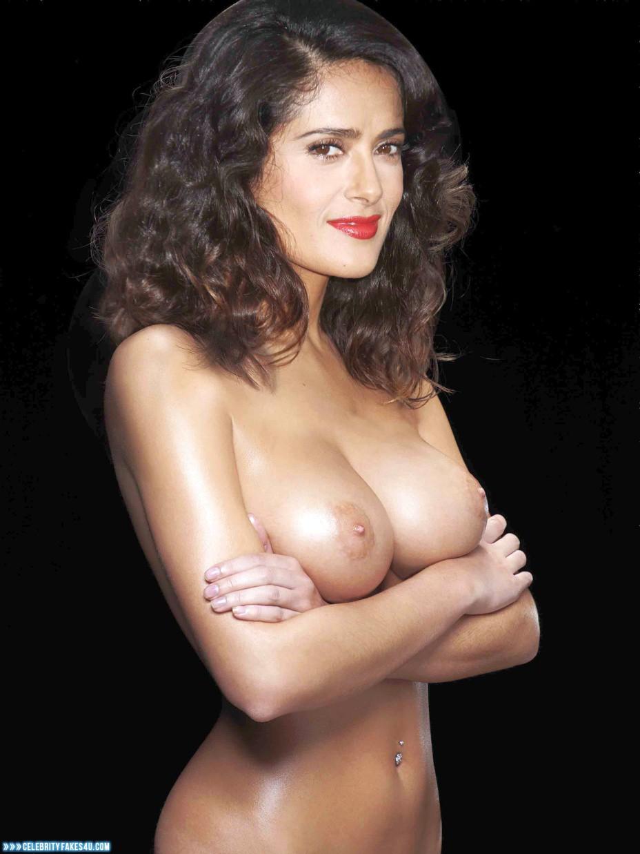 Wallpaper Salma Hayek Nude