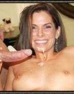 Sandra Bullock Handjob Cum Facial Fake Sex 001