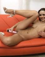 Sandy Leah Lima Pinching Nipples Sex Toy Porn Fake 001
