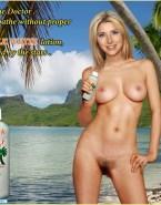 Sarah Chalke Beach Fully Nude Body 001