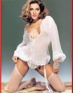 Sarah Jessica Parker Lingerie See Thru Naked 001