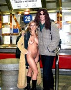 Sarah Jessica Parker Nice Tits Public Naked 001
