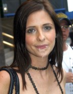 Sarah Michelle Gellar Cum Facial Swallowing Cumslut 001
