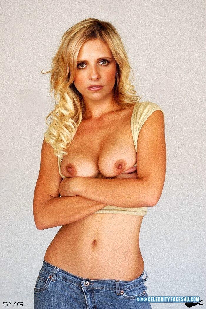Sarah Michelle Gellar Hot Tits 001  Celebrityfakes4Ucom-2653