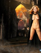 Sarah Michelle Gellar Pantiless Perfect Tits 001