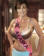 Sarah Palin Bra Huge Boobs Nude 001