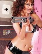 Sarah Palin Hot Outfit Latex Naked 001