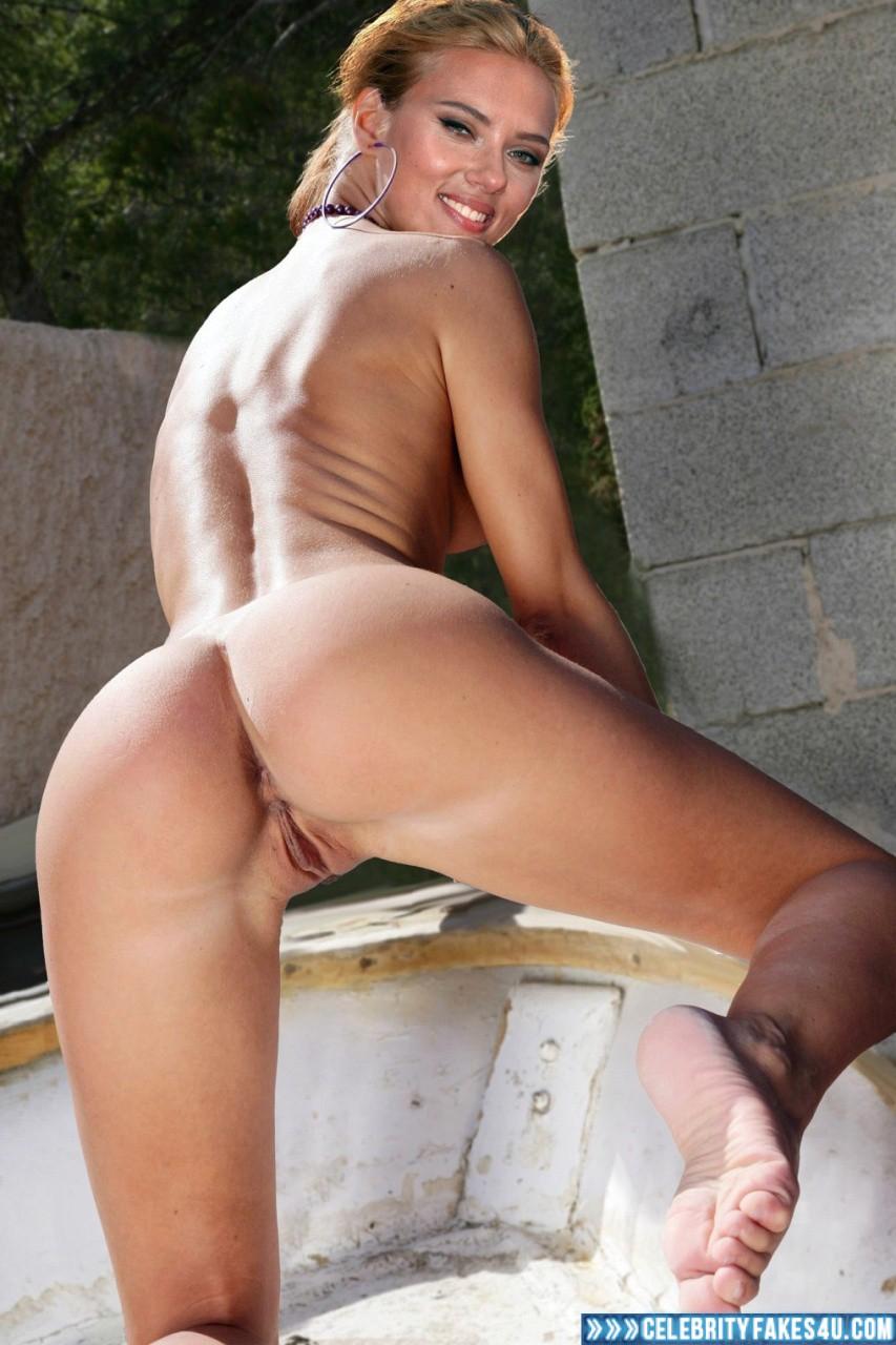 scarlett johansson ass and pussy pics