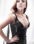 Scarlett Johansson Big Cumshot Facial 001