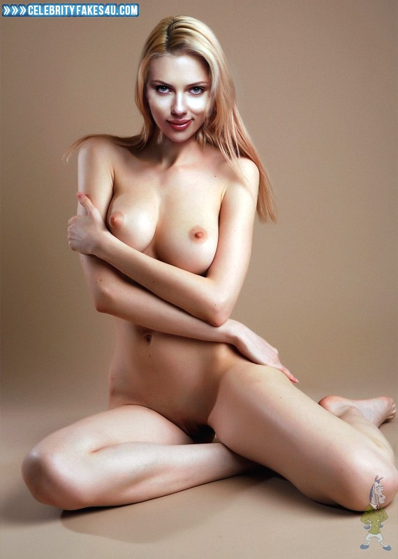 Scarlett Johansson Fake, Horny, Tits, Very Nice Tits, Porn