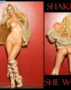 Shakira Legs Nude Body Fake 001