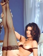 Shania Twain Lingerie Legs Naked 001