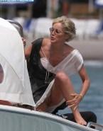 Sharon Stone Up Skirt Vagina Exposed Voyeur 001