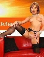 Sian Williams Topless Legs Spread Pussy Porn 001