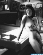 Sigourney Weaver Completely Naked Body Squeezing Tits 001