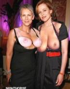 Sigourney Weaver Lesbian Shows Her Tits Porn 001