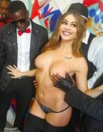 Sofia Vergara Pinching Nipples Topless 001