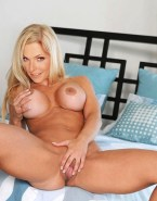 Sonya Kraus Squeezing Tits Spread Pussy Porn 001