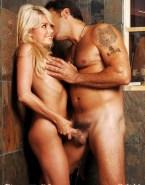 Stacy Keibler Handjob Squeezing Tits Sex 001