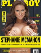 Stephanie Mcmahon Playboy Magazine Nipples Pinched Naked 001
