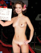 Summer Glau Small Tits Public Nude 001