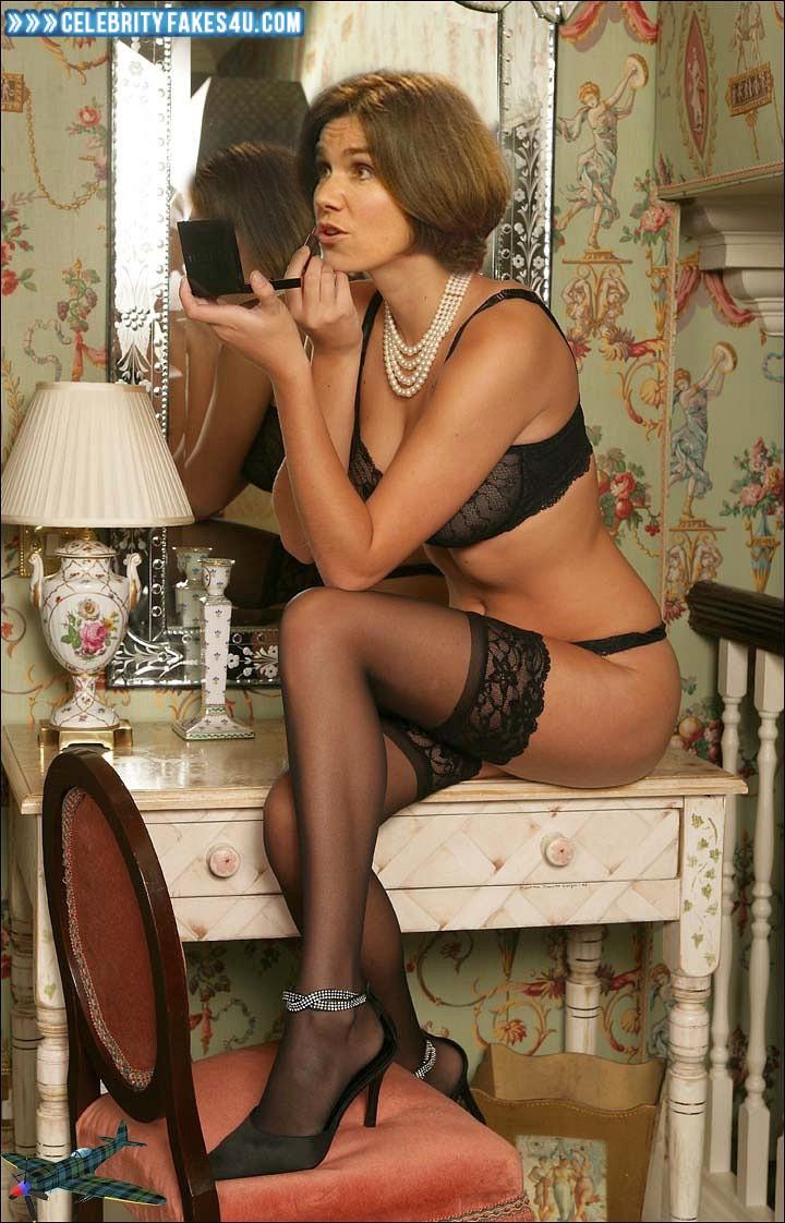 Susanna Reid Fake, Lingerie, Stockings, Porn