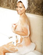 Sylvie Meis In The Shower Nipples Pinched Porn 001