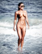 Sylvie Meis Wet Beach Porn 001