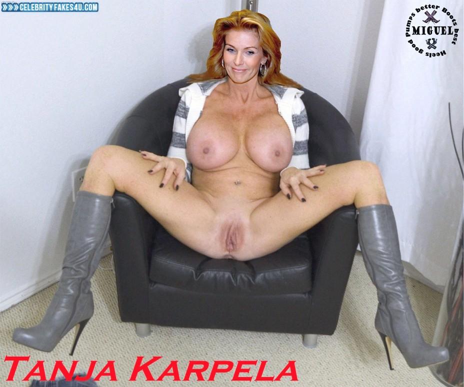 Tanja Karpela Fake, Big Tits, Legs Spread, Porn
