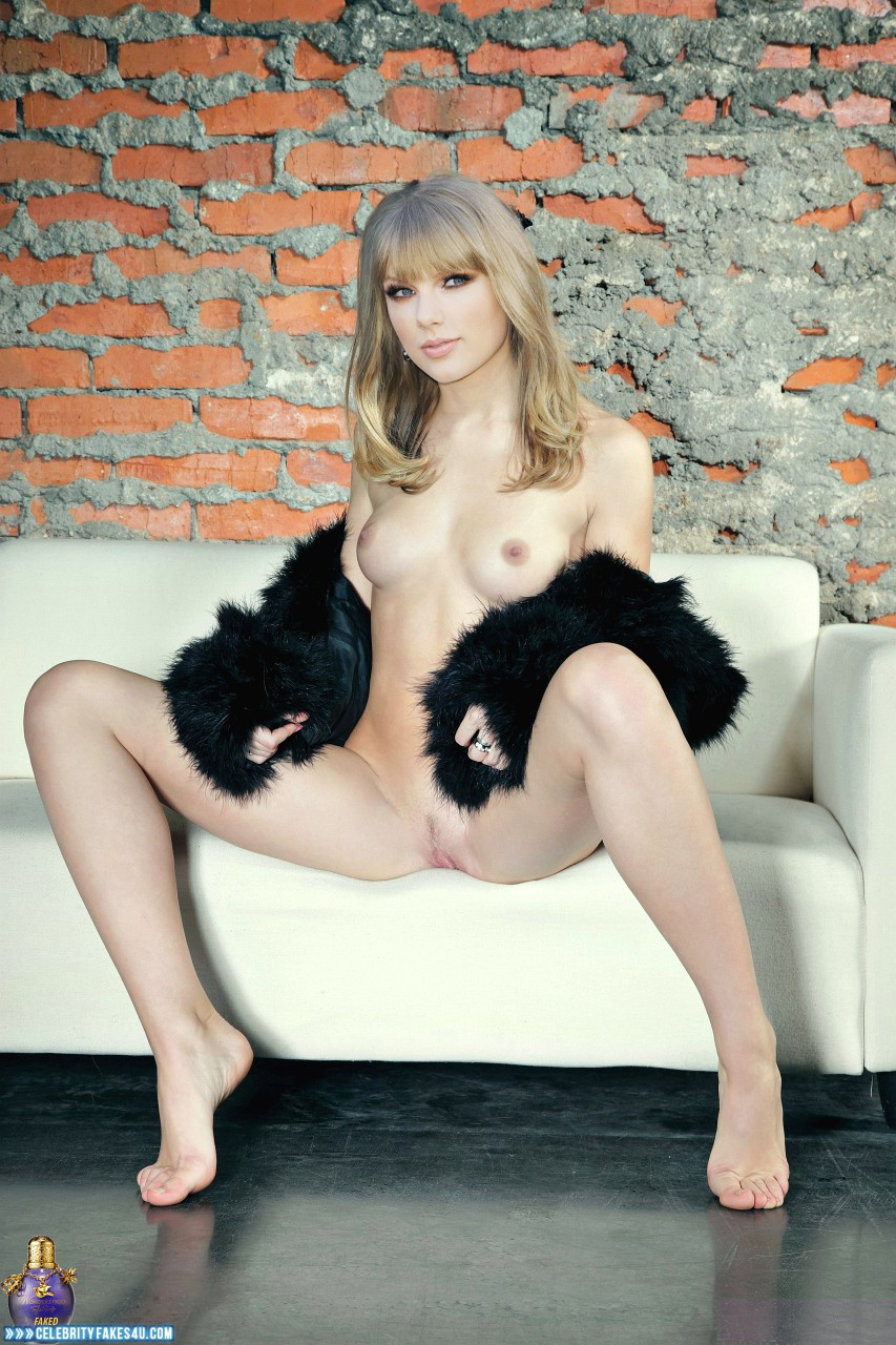 Taylor Swift Fake, Legs Spread, Nude, Pussy, Tits, Porn