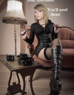 Taylor Swift Hot Outfit Femdom Fake 001