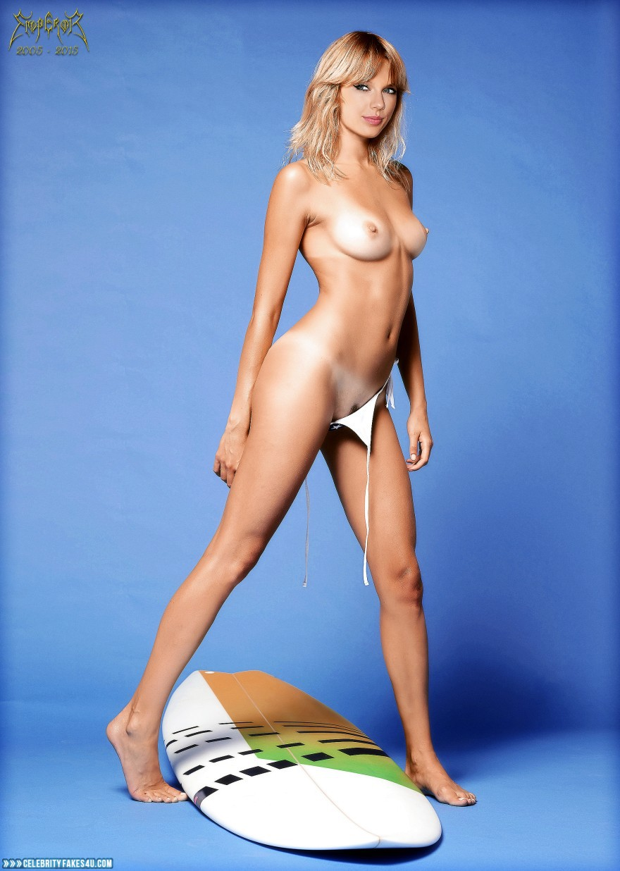 Taylor Swift Fake, Blonde, Completely Naked Body / Fully Nude, Feet, Nude, Sexy Legs, Tan Lines, Tits, Porn