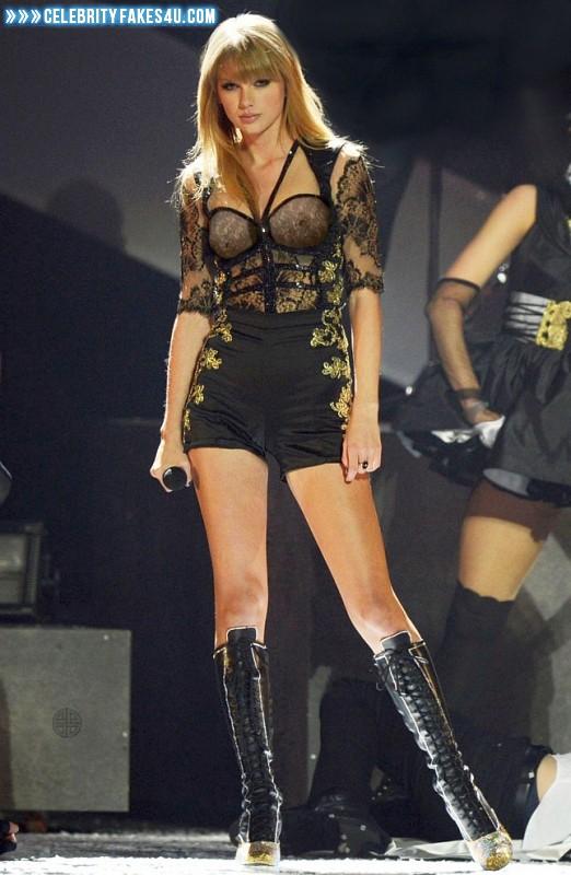 Taylor Swift See Thru Lingerie Porn 001 « Celebrity Fakes 4U